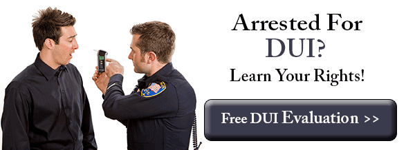 Arrested For DUI?