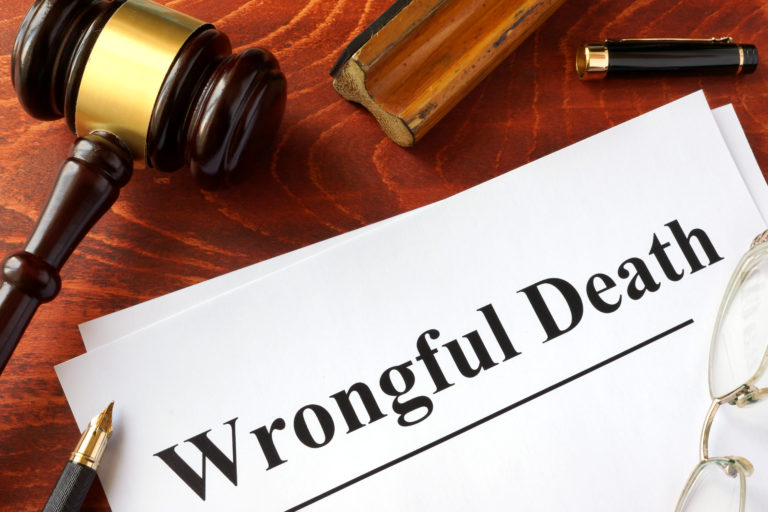 wrongful death Couer D'alene