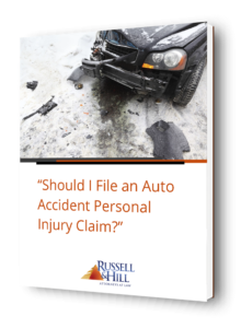Auto Accident Personal Injury Report